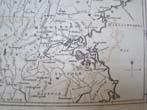 click to view detailed description of An antique Map of 100 miles around Boston published circa 1800